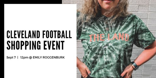 Cleveland Football Shopping Party at The Emily Roggenburk Shop