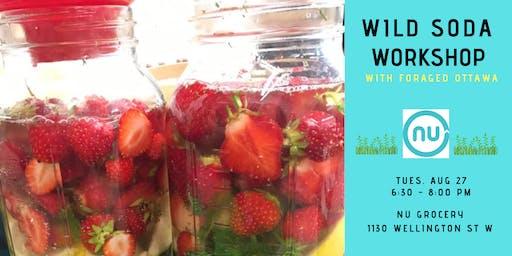 Wild Fermented Soda Workshop