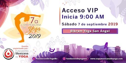 7a Copa Mexicana de Yoga 2019 Acceso Espectador