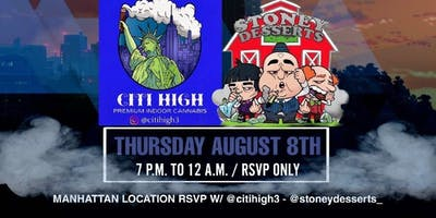 STONED IN THE CITI Thursday