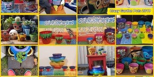 Adults Crazy Pot Painting!!!