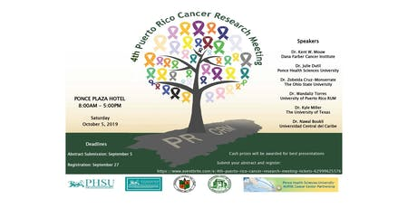 4th Puerto Rico Cancer Research Meeting tickets