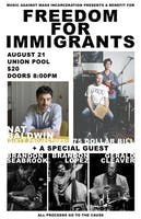 "A Benefit for ""Freedom For Immigrants"" Non-profit"
