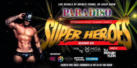 Paradiso - Super Heroes tickets