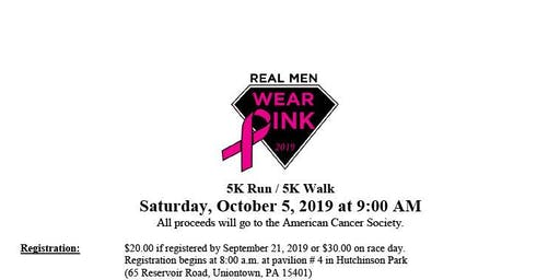 Real Men Wear Pink 5k Run/Walk