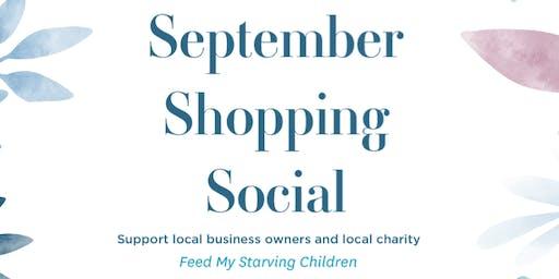 September Shopping Social
