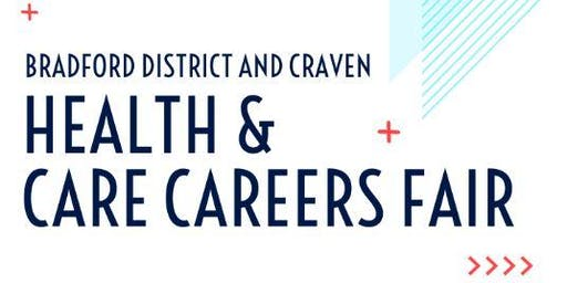 POSTPONED UNTIL 2020 Bradford district and Craven health and care careers fair (SCHOOL BOOKINGS)