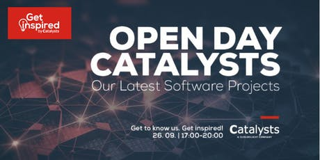Get Inspired by Catalysts Frankfurt - Open Day tickets