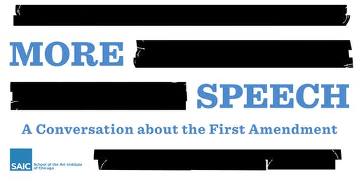More Speech: A Conversation about the First Amendment