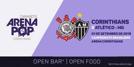 Camarote Arena Pop I Corinthians x Atlético-MG | Aniversário 109 anos ingressos