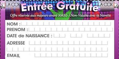 Entrée gratuite discothèque La ***
