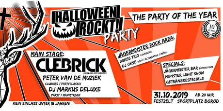 HALLOWEEN ROCKT! PARTY Tickets