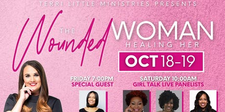"""""""The Wounded Woman"""" Healing Her Women's Conference tickets"""