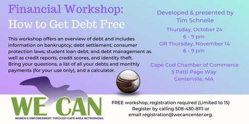 Financial Empowerment Workshop: How to Get Debt Free