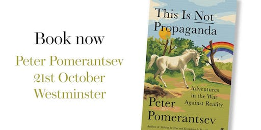 Prospect Book Club - Peter Pomerantsev