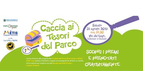 Caccia ai Tesori del Parco - S.Stefano di Sessanio edition biglietti