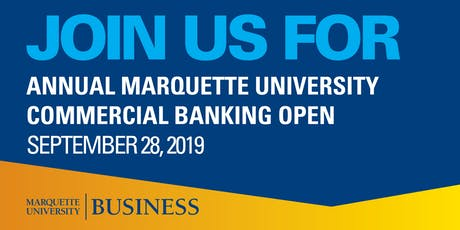 Annual Marquette University Commercial Banking Open tickets