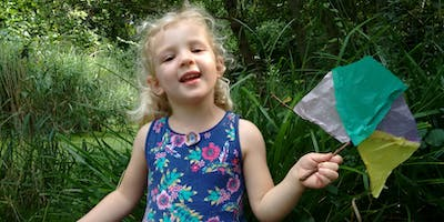 Nature Tots Forest School at Centre for Wildlife Gardening - Taster session