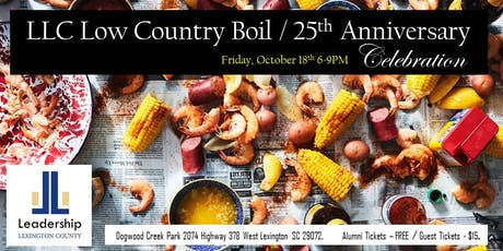 LLC Fall Low Country Boil / 25th Anniversary Social tickets