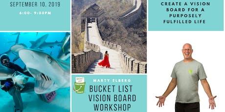 Bucket List Vision Board Workshop tickets