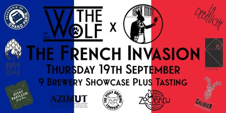 The French Invasion - Tasting tickets