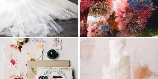 Abstract Art Styled Wedding Photography Shoot