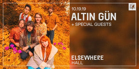 Altin Gün @ Elsewhere (Hall) tickets