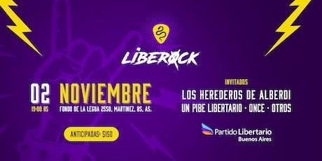 LibeRock entradas