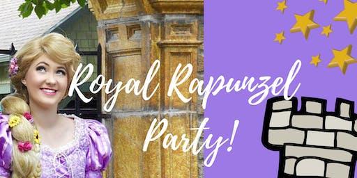 Royal Rapunzel Party