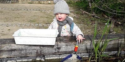Nature Tots Forest School at Woodberry Wetlands - Taster session
