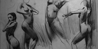 Art Demo Quick Sketch Class