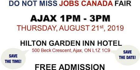 AJAX JOB FAIR - August 21st, 2019 tickets