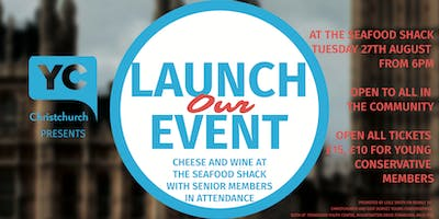 Christchurch Young Conservatives Launch Event