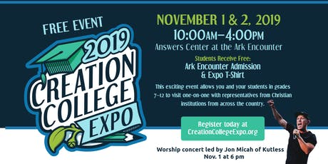 Creation College Expo 2019 tickets
