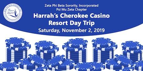 Harrah's Cherokee Casino Resort Day Trip tickets