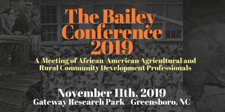 The Bailey Conference tickets