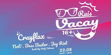 Vacay 16+ tickets