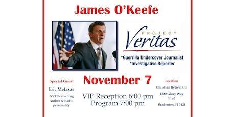 Road to 2020 Speaker Series November 2019 - James O'Keefe, Keynote tickets