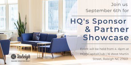 HQ Partner and Sponsor Showcase  tickets