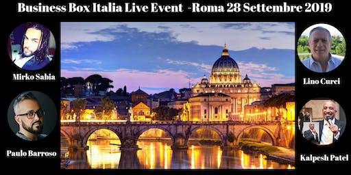 Business Box Italia Live Event Roma