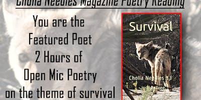 Cholla Needles Magazine Poetry Reading
