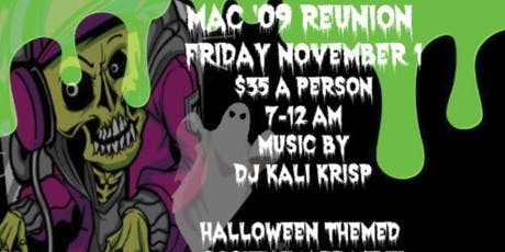 MacArthur Class of 2009 Halloween Reunion Party tickets