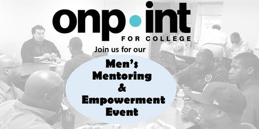 On Point for College: Men's Mentoring and Empowerment Event