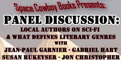 Sci-Fi & What Defines Literary Genres - Panel Discussion tickets