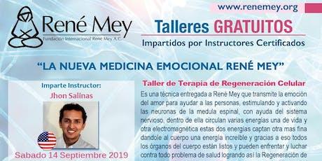 Sept 14 Miami Talleres Tecnicas Medicina Emocional Rene Mey tickets