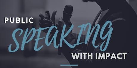 Public Speaking with Impact | Carl Konadu tickets