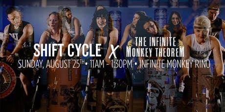 Shift Cycle x Infinite Monkey Theorem: Class & A Glass tickets