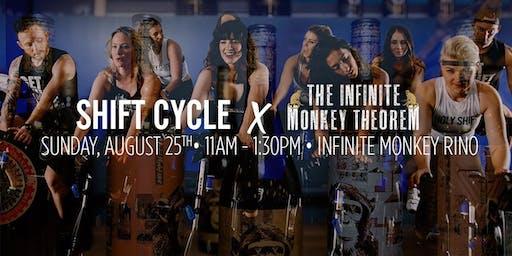 Shift Cycle x Infinite Monkey Theorem: Class & A Glass