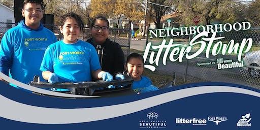 2019 Neighborhood Litter Stomp
