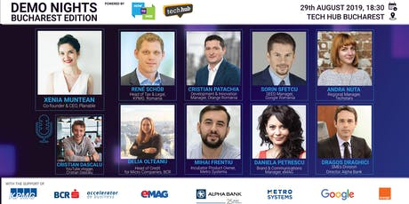 Demo Nights Bucharest // Digital Innovation tickets